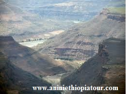 Attraction Blue Nile Gorge